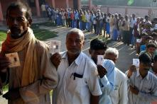 Voters flock polling booths, balloting remains peaceful