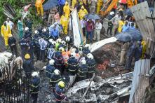 Five Dead After Chartered Aircraft Crashes in Mumbai's Ghatkopar