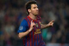 Messi sets Champions League scoring record