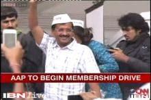 AAP launches membership drive ahead 2014 Lok Sabha polls