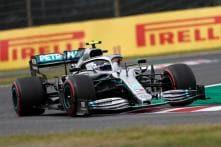 Valtteri Bottas, Lewis Hamilton Set Early Pace in Typhoon-hit Japanese GP Practice