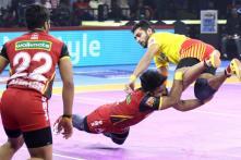 Pro Kabaddi 2019: Gujarat Fortunegiants Beat Bengaluru Bulls, U Mumba Maul Jaipur Pink Panthers