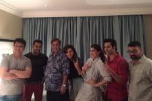 Salman Khan Joins Varun Dhawan and Cast to Shoot for Judwaa 2