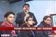 School children turn film critics for 'The Smurfs 2' review contest