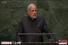 Willing to resolve Kashmir issue with Pakistan but without the threat of terror: PM Modi at UNGA