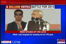 Modi slams Congress for demanding to strip Lata Mangeshkar of Bharat Ratna