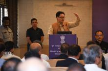 Sports Minister Kiren Rijiju Says Lifelong Pension Being Given to 'Meritorious Sportspersons'
