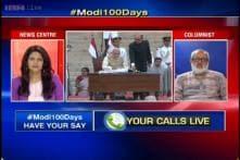 What best describes PM Modi's 100 days in power?