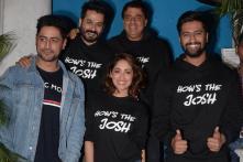 PICS: Yami Gautam, Vicky Kaushal Celebrate Uri's Success in Style