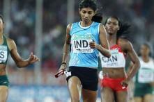 Ashwini Akkunji visits Asian Athletics C'ship after serving ban