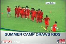 Football summer camp with Sunil Chhetri