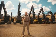 Hollywood Action Star Dolph Lundgren Stars in Volvo Advertisment