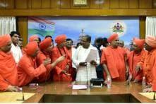 Lingayat Seers Amp up Pressure on Siddaramaiah for Separate Religion Status, Veerashaivas Oppose it