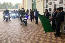 Gurugram Police Procures 10 Suzuki Gixxer SF 250 Motorcycles for Road Safety CSR Initiative
