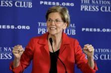 Democratic US Presidential Hopeful Elizabeth Warren Pushes for Trump Impeachment