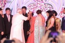 Snapshot: Narendra Modi attends Ahana Deol-Vaibhav Vora's wedding reception