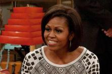 Michelle Obama tracks Santa's sleigh over Africa