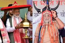 PHOTOS: Colourful Headgears of PM Narendra Modi