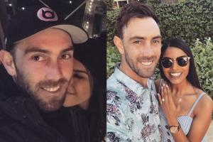 Glenn Maxwell Gets Engaged to Longtime Girlfriend Vini Raman