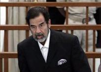 Saddam held to account for crimes: UK