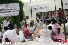Victims meet to commemorate the 18th death anniversary of Uphaar fire tragedy