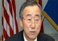 Stop war, start talks: UN Secy Gen to SL, LTTE