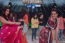 Taapsee Pannu Pulls Off 'Didi Tera Devar Deewana' Hook Step With Madhuri Dixit