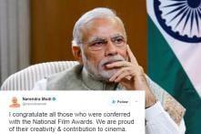 PM Narendra Modi Congratulates National Award Winners