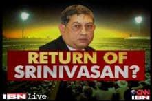 Will Srinivasan chair BCCI meet on Friday?