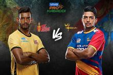 Pro Kabaddi 2019 HIGHLIGHTS, Telugu Titans vs UP Yoddha in Mumbai: Telugu and UP Tie 20-20
