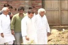 Rahul Gandhi meets Badaun gangrape victims' family, demands CBI probe