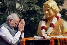 APJ Abdul Kalam Created a Void that is Irreplaceable: Narendra Modi