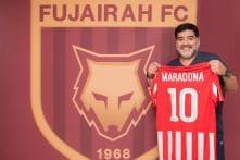 Maradona Named Coach of Second-tier UAE Club Al-Fujairah