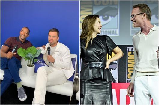 Image of Anthony Mackie, Sebastian Stan, Elizabeth Olsen, Paul Bettany, courtesy of Instagram