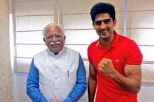 Vijender Singh invites Haryana CM for his WBO Asia title bout