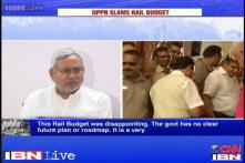 Rail budget disappointing, very generic: Nitish Kumar