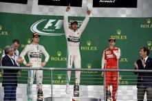 In pics: Lewis Hamilton wins his third Formula One World Championship
