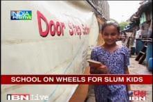 Mumbai: School on wheels educating slum children