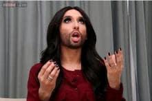 I'm living my dream, says Austrian drag queen Conchita Wurst