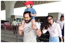 Angry Saif Ali Khan to Paparazzi Clicking Taimur: Enough, My Child Will Go Blind