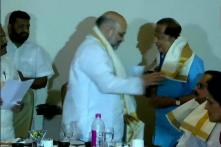 Former ISRO Chief Madhavan Nair Joins Kerala BJP, Welcomed by Amit Shah