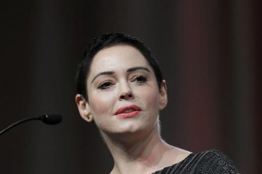 File photo of actress Rose McGowan. (AP Photo)