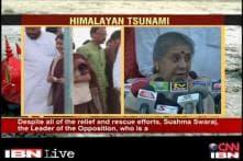 Congress slams Sushma Swaraj for demanding dismissal of U'khand govt