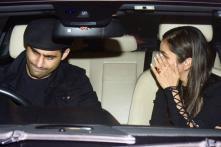 Bollywood Stars Party At Manish Malhotra's Residence