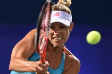 Angelique Kerber Keeps Mind on Business of Winning at Indian Wells