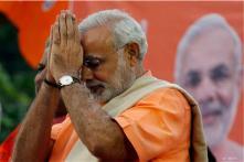 Narendra Modi shown prominently in Bihar BJP's Hunkar Rally hoardings