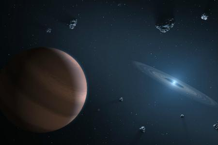 Astronomers discover a handsome six-planet system in almost ideal orbital harmony