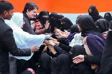 Priyanka Gandhi-Vadra in Azamgarh Meets Anti-CAA Protest Victims