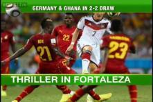 The Beautiful Game: Ghana halt German charge