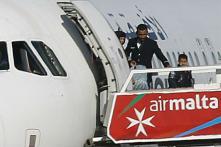 Women, Children Released From Hijacked Libyan Plane in Malta